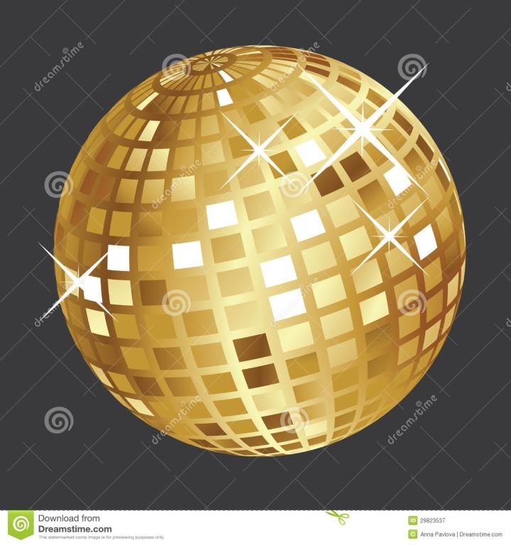 bola-de-discoteca-de-oro-29823537